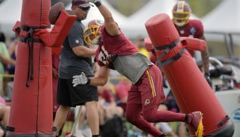 Redskins summer camp