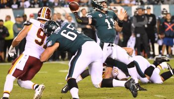 NFL- Washington Redskins at Philadelphia Eagles