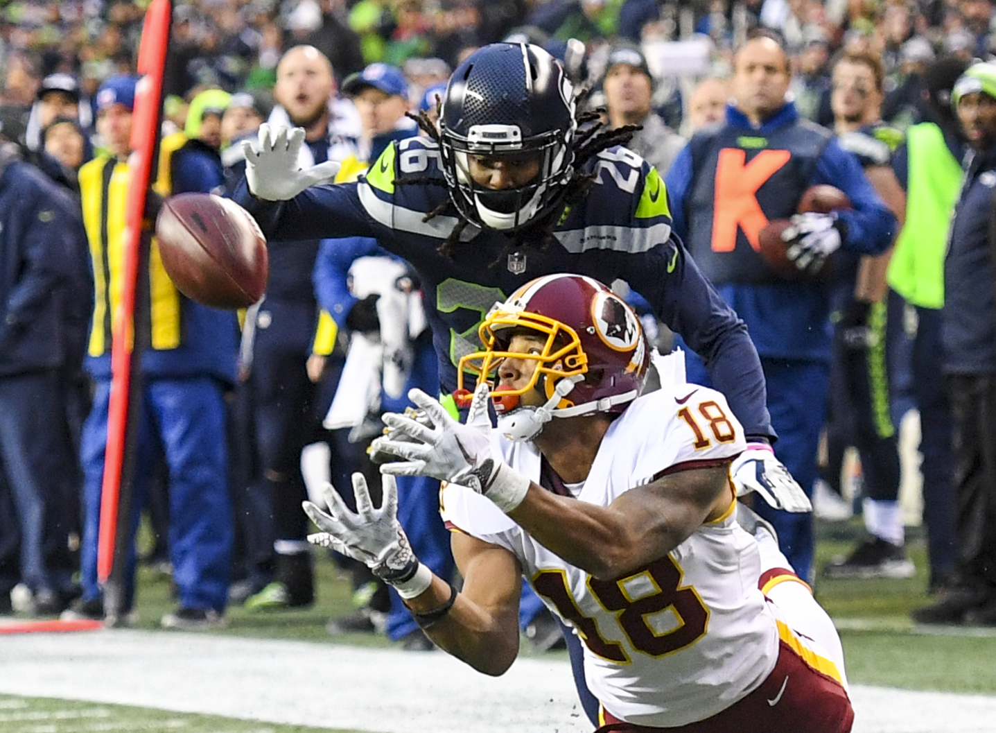 NFL-Washington Redskins at Seattle Seahawks