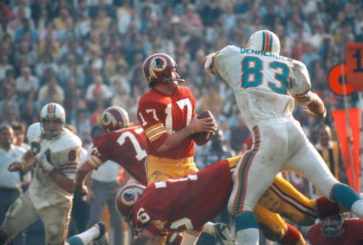 Super Bowl VII - Washington Redskins v Miami Dolphins