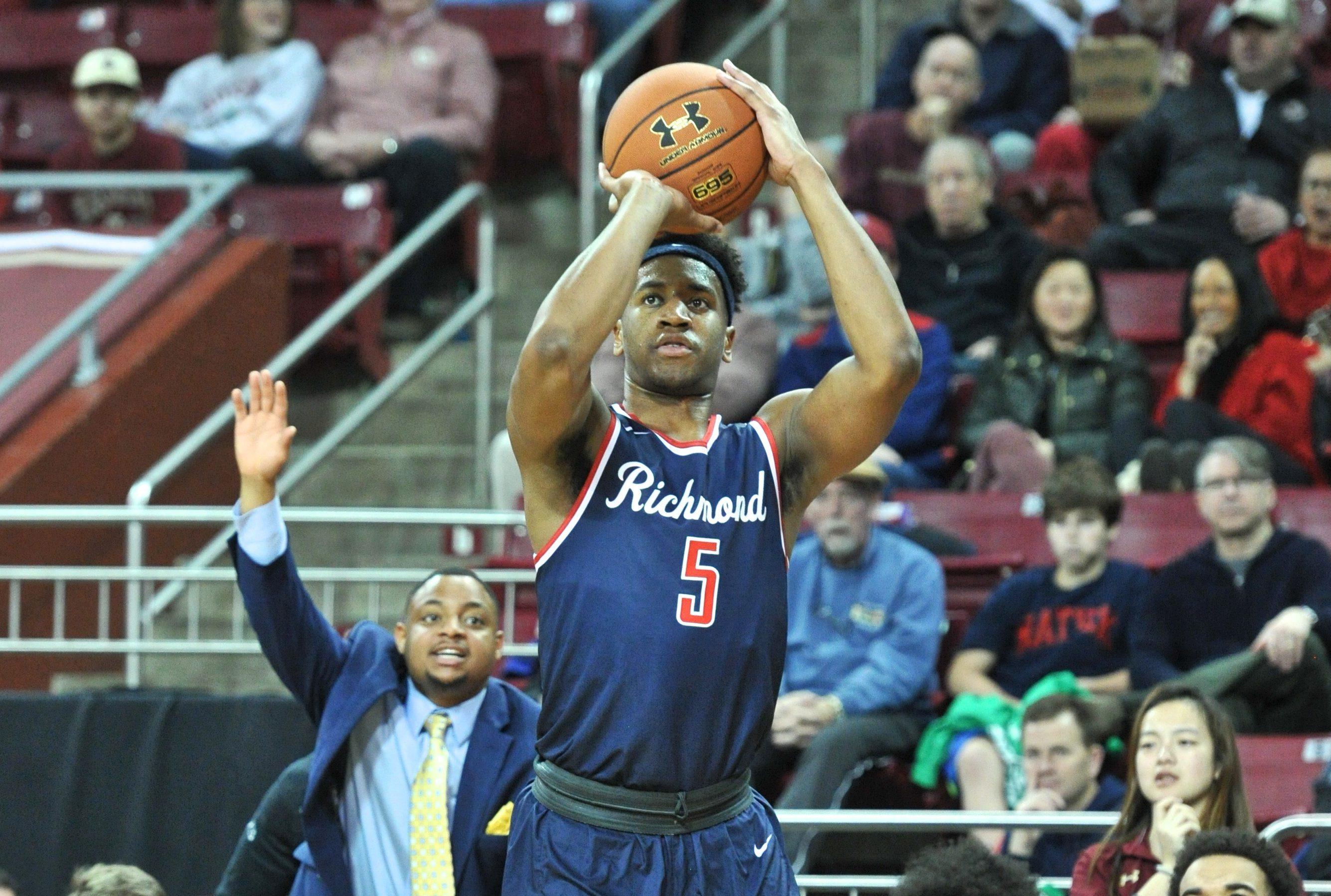 COLLEGE BASKETBALL: DEC 23 Richmond at Boston College