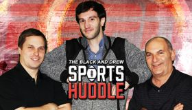 The Black and Drew Sports Huddle