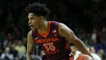 COLLEGE BASKETBALL: JAN 27 Virginia Tech at Notre Dame