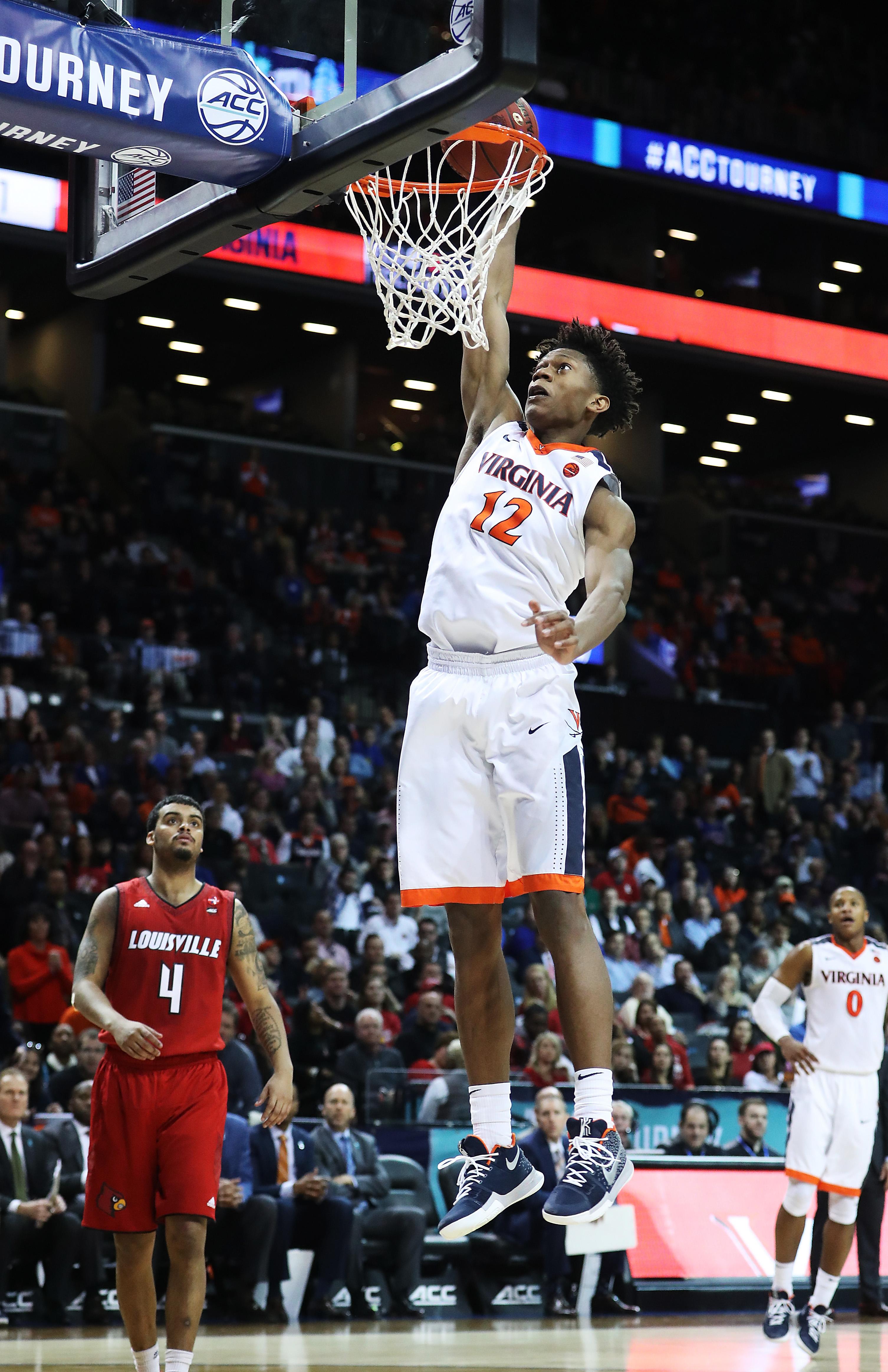 ACC Basketball Tournament - Quarterfinals Va v Louisville