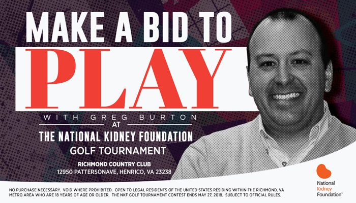NKF Golf Tournament_Enter-to-win Contest