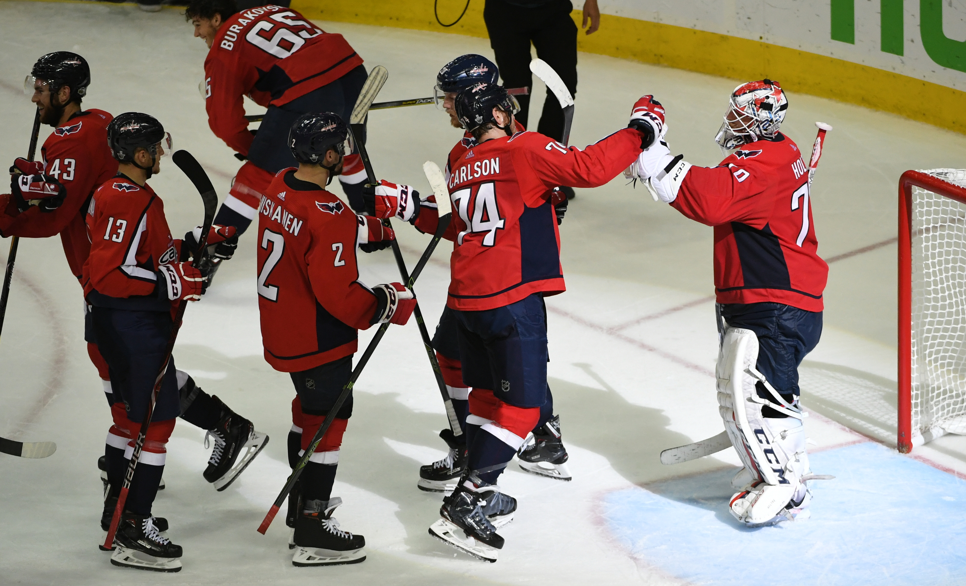 NHL Stanley Cup Playoffs Eastern Conference Finals Game six. Tampa Bay Lightning at Washington Capitals