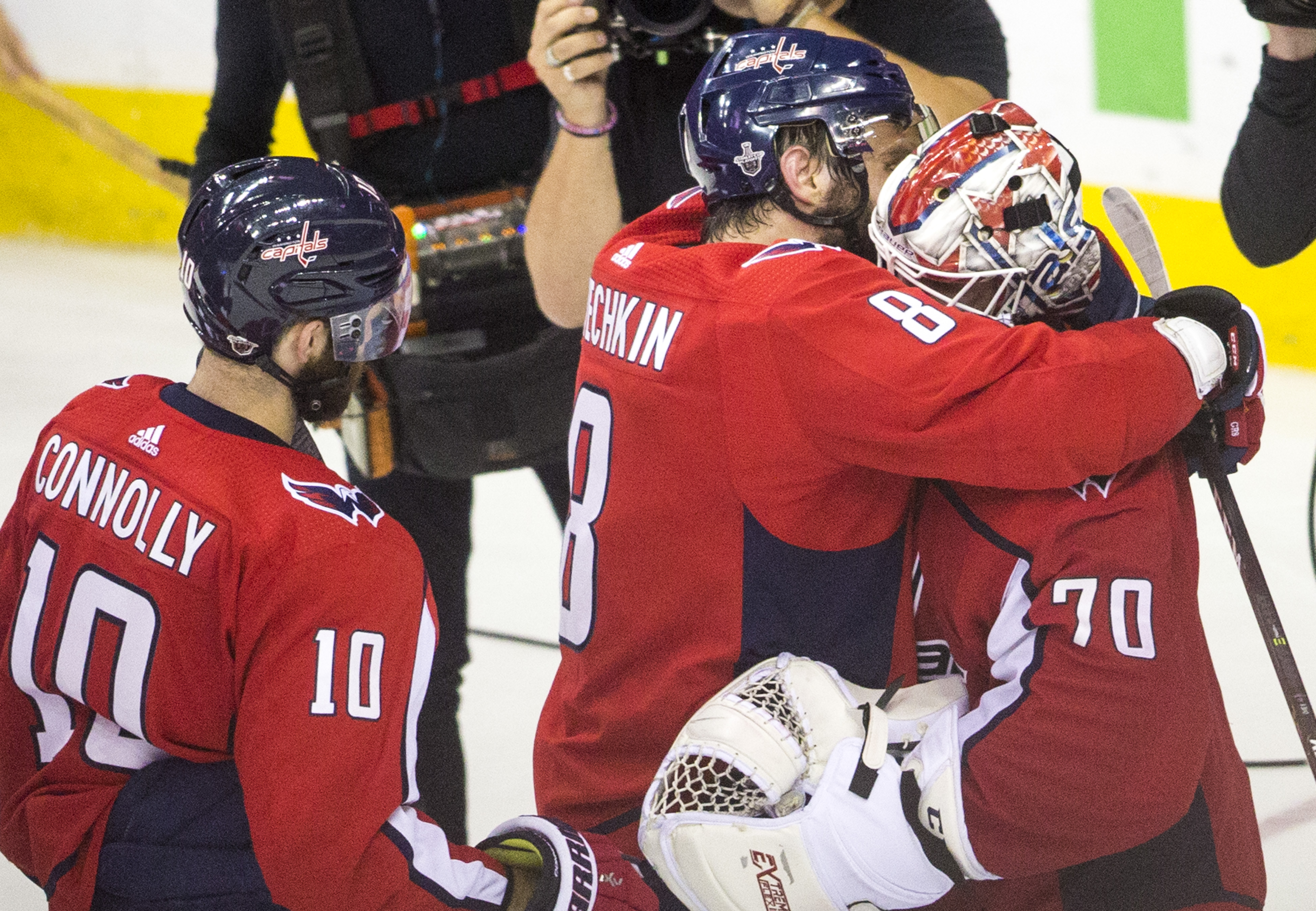 NHL: MAY 21 Stanley Cup Playoffs Eastern Conference Finals Game 6 - Lightning at Capitals