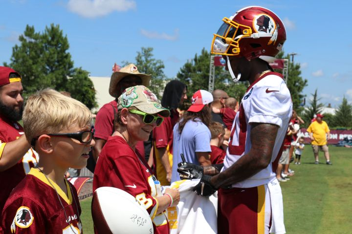 Redskins Training Camp -- 2018