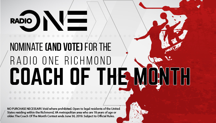 Radio One Richmond Coach of the Month