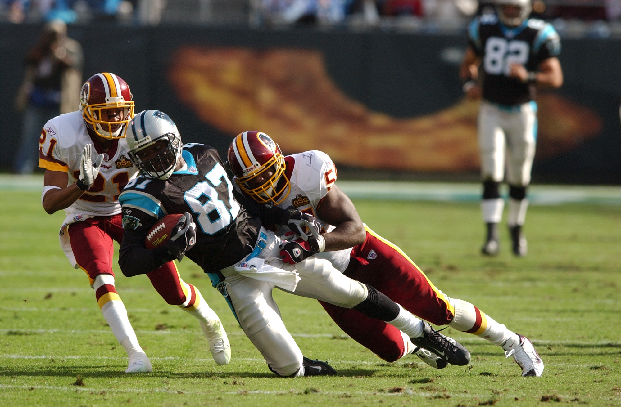 NFL: NOV 16 Redskins at Panthers