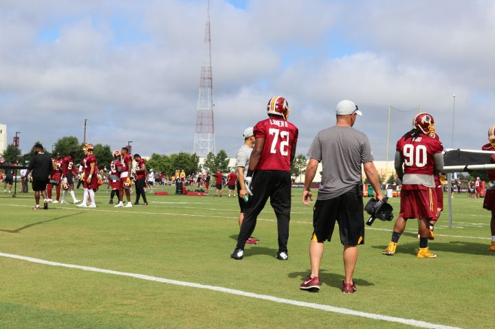 Redskins Training Camp