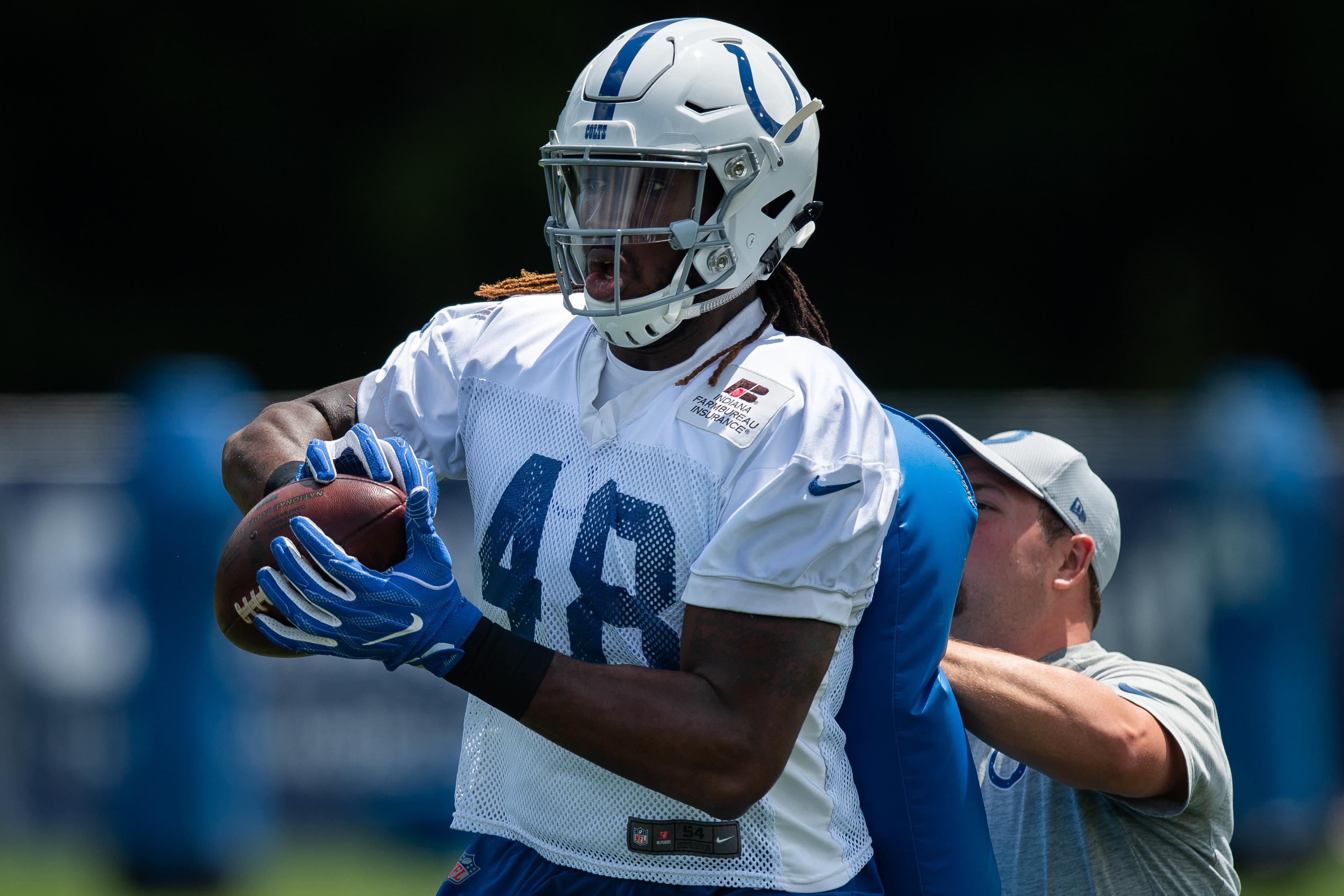 NFL: JUL 27 Colts Training Camp
