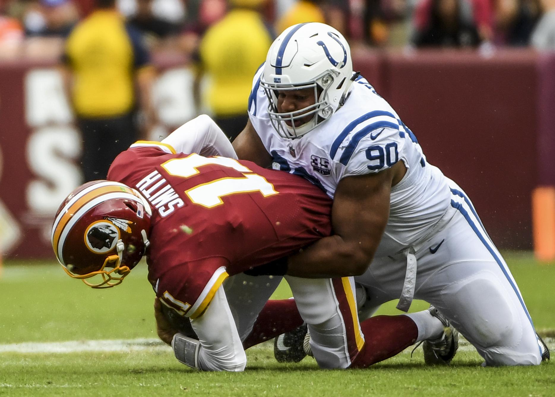 NFL-Indianapolis Colts at Washington Redkins