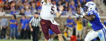 COLLEGE FOOTBALL: SEP 29 Virginia Tech at Duke