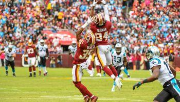NFL-Carolina Panthers at Washington Redskins