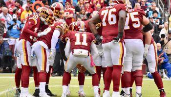 Redskins Panthers Alex Smith