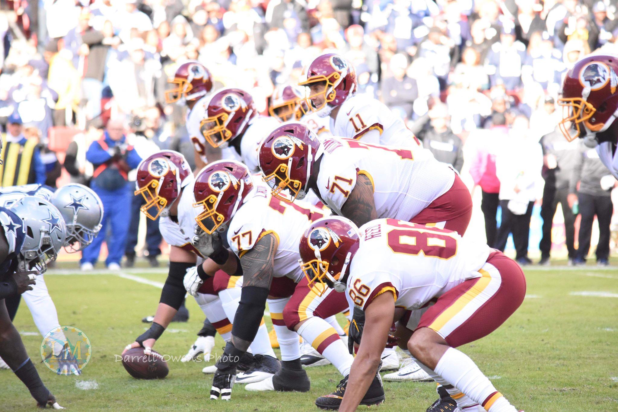 Redskins offense Alex Smith