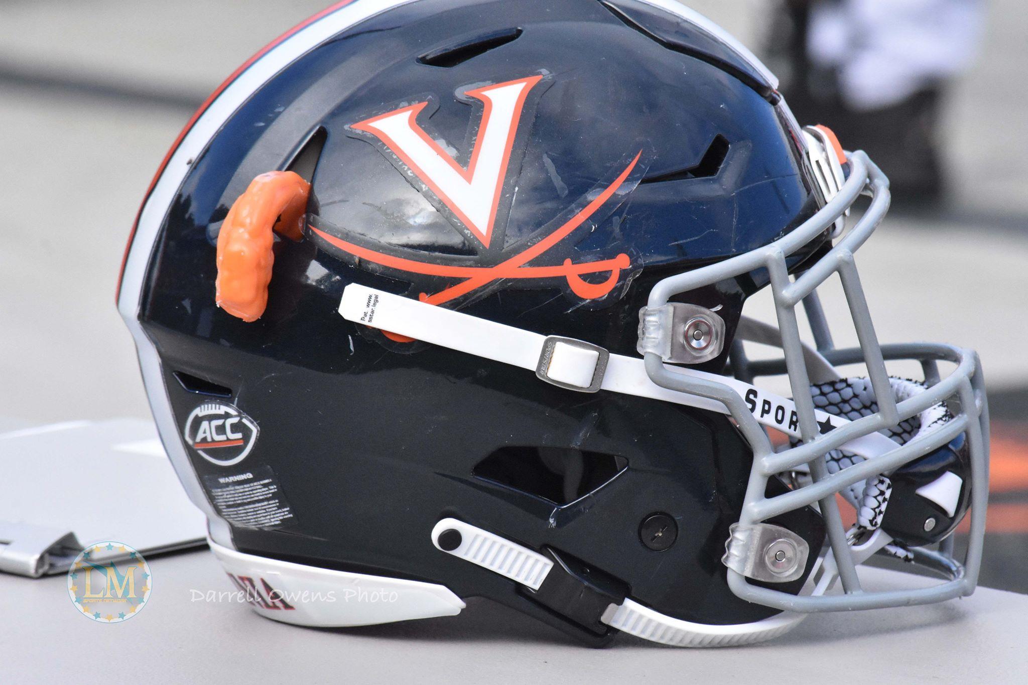 Virginia football helmet