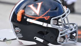 Virginia football helmet