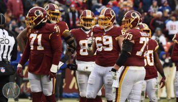 Redskins Offensive Line