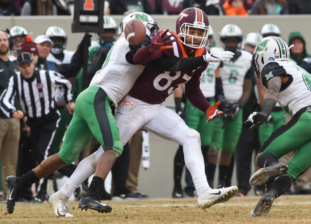 Marshall v Virginia Tech