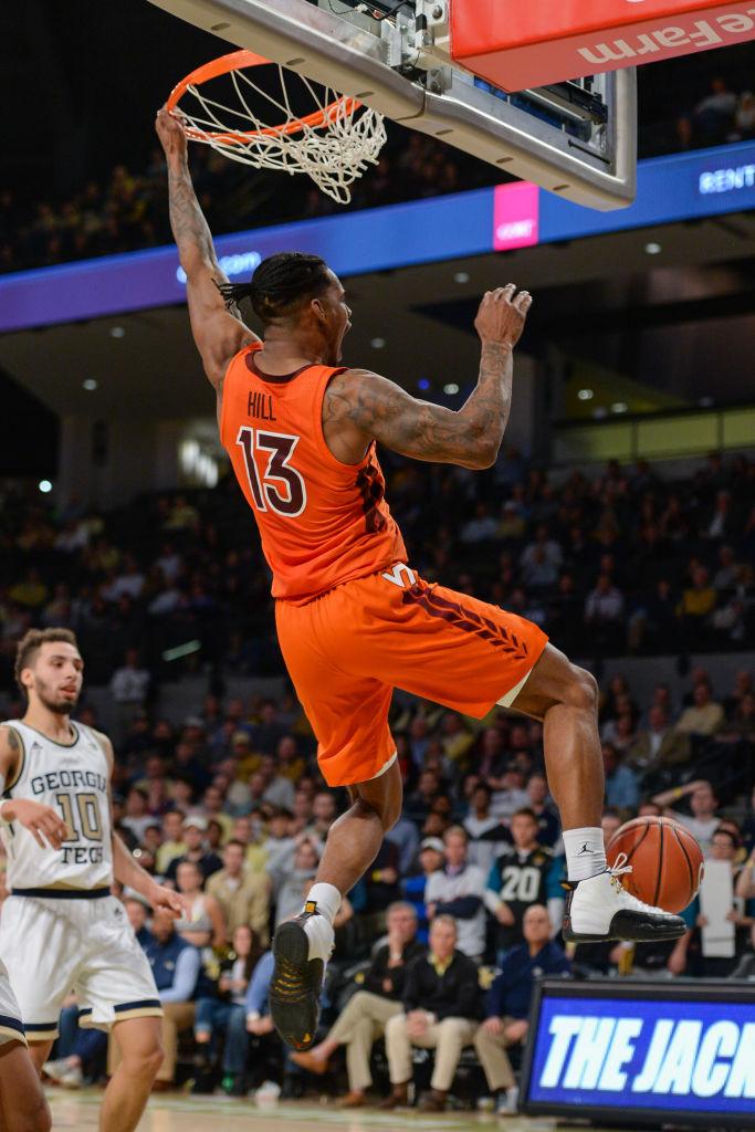 COLLEGE BASKETBALL: JAN 09 Virginia Tech at Georgia Tech
