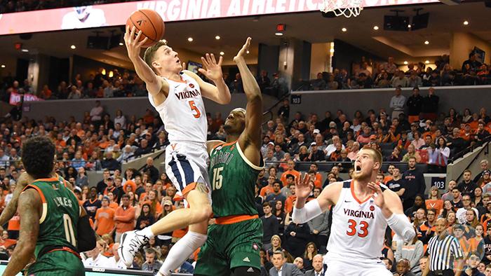 Virginia Basketball vs. Miami