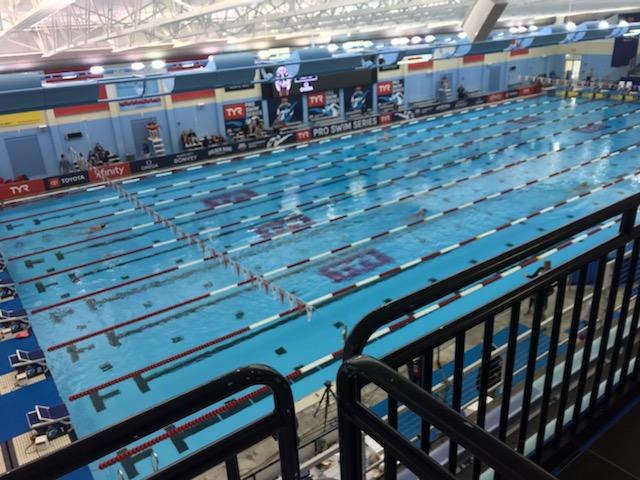 Black And Drew Hosting The TYR Sports Pro Swimming Series