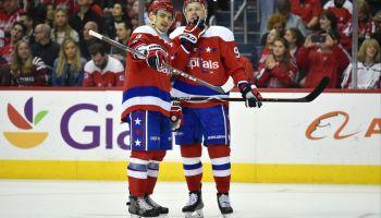NHL: APR 06 Islanders at Capitals