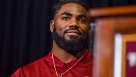 New Washington Redskins Player Landon Collins is Introduced