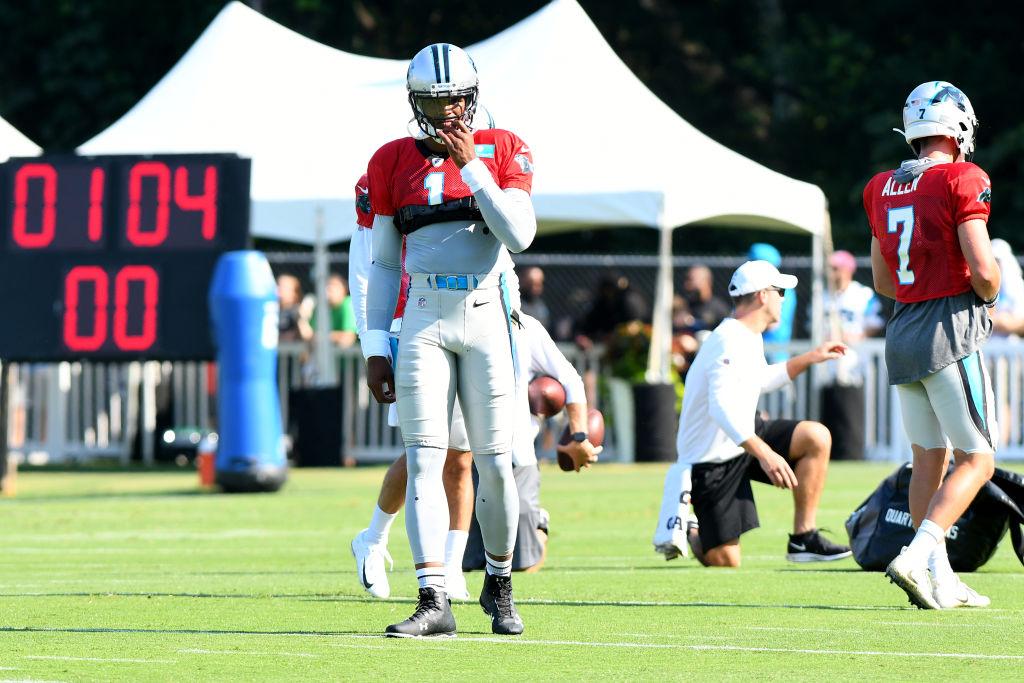 NFL: JUL 27 Panthers Training Camp