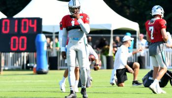 NFL: JUL 27 Panthers Training Camp