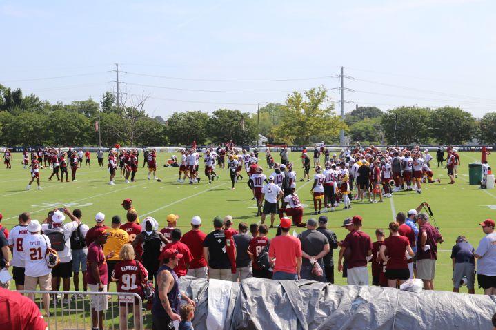 Redskins Training Camp