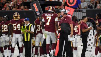 NFL Washington Redskins vs Cleveland Browns