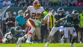 Philadelphia Eagles and the Washington Redskins