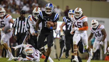 COLLEGE FOOTBALL: SEP 27 Duke at Virginia Tech