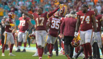 Washington Redskins and the Miami Dolphins
