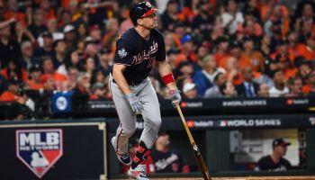 World Series Game 1- Washington Nationals at Houston Astros