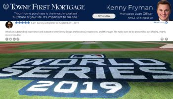 Kenny Fryman, Towne First Mortgage World Series Preview