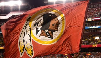 Redskins flag