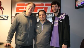 Michael Rapaport at ESPN Richmond
